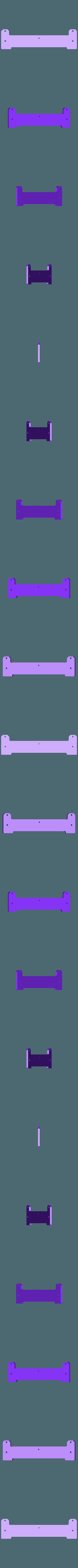 Frontal_base_larga.stl Télécharger fichier STL gratuit Amélioration du lit pour Prusa i3 • Plan imprimable en 3D, BQ_3D