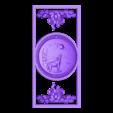 391.stl Télécharger fichier STL gratuit support mural lune et loup • Plan à imprimer en 3D, 3DPrinterFiles