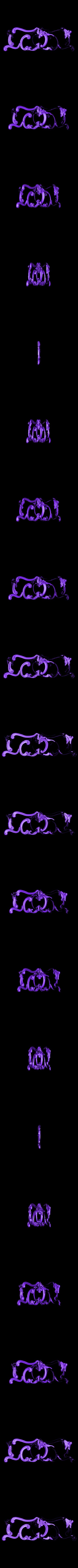 35_2.stl Télécharger fichier STL gratuit Décorations de lit • Design pour impression 3D, 3DPrinterFiles