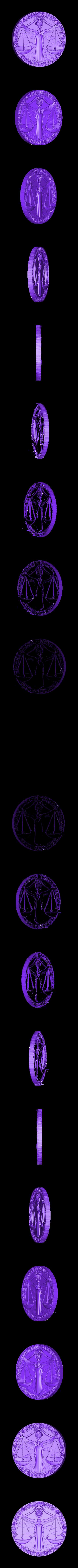2.stl Download free STL file Zodiac sign • 3D printing design, 3DPrinterFiles