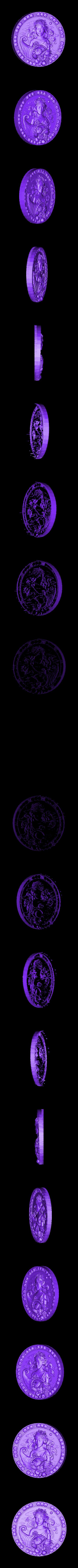 4.stl Télécharger fichier STL gratuit Signe du zodiaque • Modèle pour imprimante 3D, 3DPrinterFiles