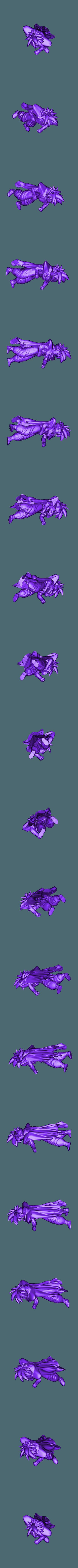 son gohan  cape.stl Download STL file Son Gohan, Piccolo cape • Object to 3D print, Majin59