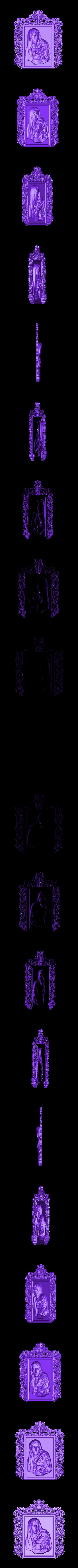 432.stl Télécharger fichier STL gratuit Épousez et jésus mort religieux • Objet pour impression 3D, 3Dprintablefile