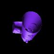 2.stl Download free STL file nephertiti egyptian art • 3D print model, 3Dprintablefile