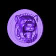 3.stl Télécharger fichier STL gratuit Tête de lion • Design pour imprimante 3D, 3Dprintablefile