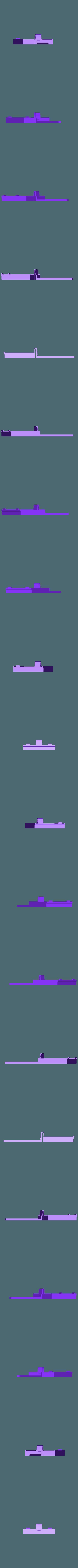 Gameboy Battery Cover Wall Mount v2.stl Télécharger fichier STL gratuit Support mural pour couvercle de batterie Gameboy • Plan pour imprimante 3D, MakeandModify