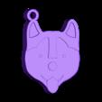Dog1.STL Download STL file KEYCHAIN Mr. Dog No.2 • 3D printable design, Tum