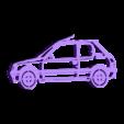 205 shop.stl Télécharger fichier STL Peugeot 205 keychain • Objet pour impression 3D, motek
