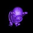 Happy Minion.stl Télécharger fichier STL gratuit Happy Minion (Impression facile sans support) • Objet pour impression 3D, Alsamen