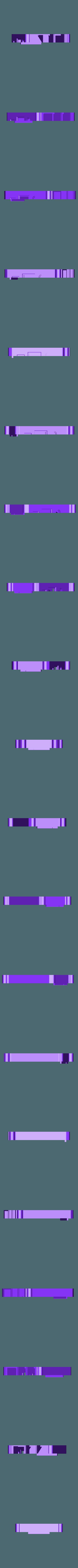Raspberry pi 3 case - rpi2-top-1.STL Download free STL file 3D-Printable Raspberry pi 3 case • 3D print object, SixtenssonDesign