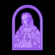 19.stl Download free STL file Jesus christ love heart • 3D printer model, STLmodelforfree