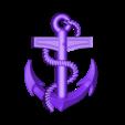 2.stl Download free STL file anchor • 3D print object, STLmodelforfree