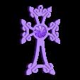 21.stl Download free STL file cross art • 3D printable template, STLmodelforfree