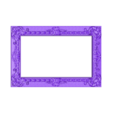 20.stl Download free STL file frame art cnc • 3D printing model, STLmodelforfree