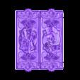 nardy13.stl Download free STL file skull cnc art • Template to 3D print, STLmodelforfree
