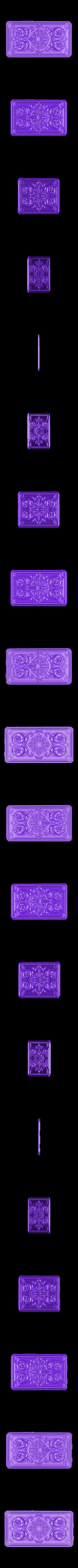vstavka.stl Download free STL file cnc renaissance decoration art • Object to 3D print, STLmodelforfree