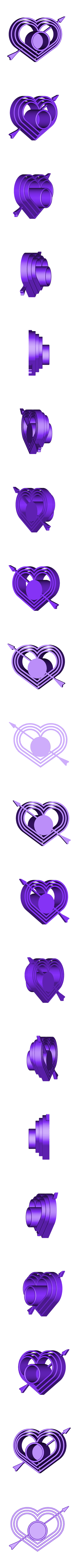 Coeur bougeoir.stl Download free STL file Heart Candle holder • 3D print design, rfbat