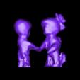 "tes.stl Download free STL file Pink Floyd ""Wish You Were Here"" Minimalist Sculpture • 3D printing object, brdwlms"