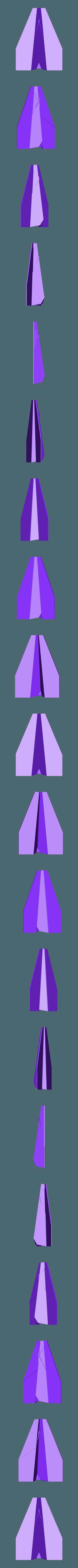 avion papier.stl Télécharger fichier STL gratuit Avion en papier • Modèle pour imprimante 3D, rfbat