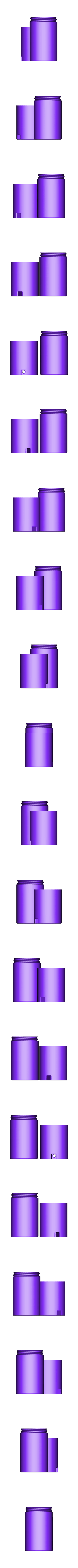 100ml Bottle Holder.stl Download free STL file Threaded Container • Model to 3D print, WW3D
