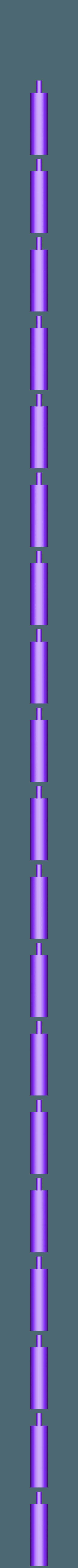 Handle:Grip Bottom.stl Download free STL file 3D Long Sword • 3D print template, Logtrimmer