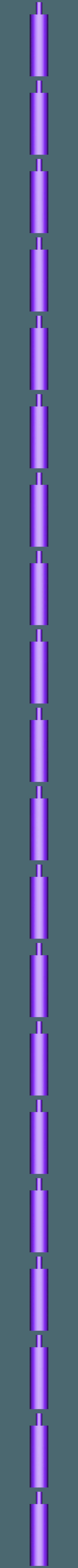 Handle:Grip Middle.stl Download free STL file 3D Long Sword • 3D print template, Logtrimmer