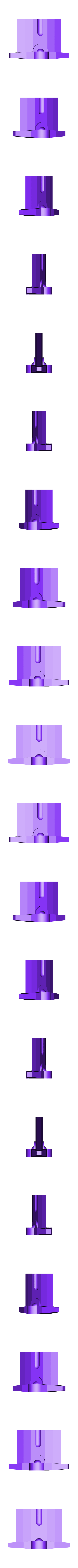 Sword Blade Bottom.stl Download free STL file 3D Long Sword • 3D print template, Logtrimmer