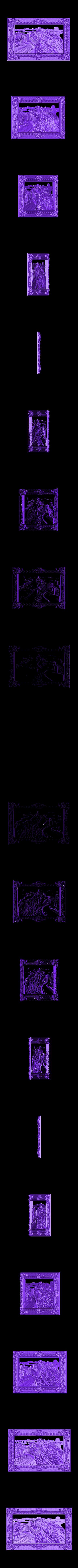 333.stl Télécharger fichier STL gratuit Superbe machine à router cnc murale chinoise avec cadre d'art • Plan à imprimer en 3D, CNC_file_and_3D_Printing
