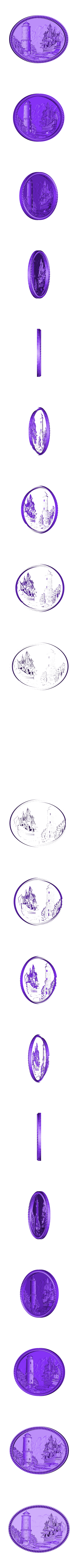 18.stl Télécharger fichier STL gratuit bateau bateau tour de mer attaque cnc art frame • Design imprimable en 3D, CNC_file_and_3D_Printing