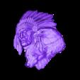 189.stl Télécharger fichier STL gratuit aigle loup indien et amérindien johnny halliday hommage tatoo • Plan pour impression 3D, CNC_file_and_3D_Printing
