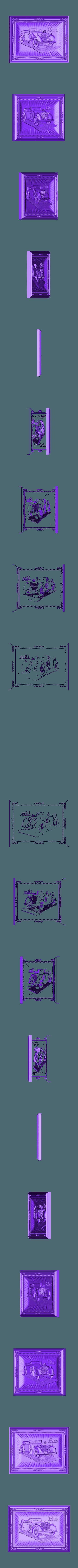 146.stl Télécharger fichier STL gratuit Bergmeister voiture d'époque vieux routeur cnc • Modèle à imprimer en 3D, CNC_file_and_3D_Printing