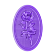 164.stl Télécharger fichier STL gratuit Rose avec l'amour cnc cadre art routeur • Objet à imprimer en 3D, CNC_file_and_3D_Printing