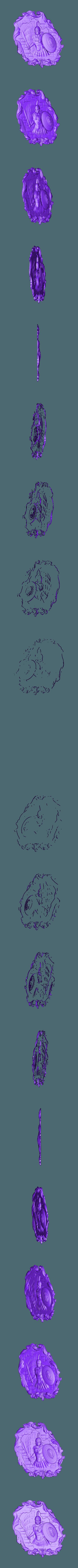 53.stl Télécharger fichier STL gratuit spartacus gladiator rome circus maximus circus maximus antic cnc art frame router • Modèle pour impression 3D, CNC_file_and_3D_Printing