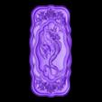 32.stl Télécharger fichier STL gratuit Dragon art frame cnc • Modèle pour imprimante 3D, CNC_file_and_3D_Printing