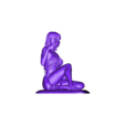 Egyptian queen_fixed.stl Download OBJ file Egyptifn Queen • 3D print model, walades