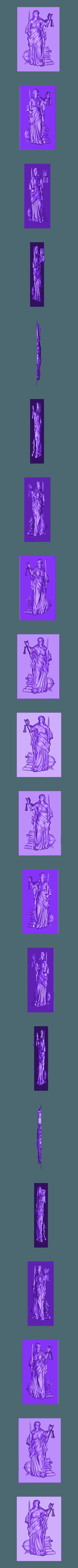 24.stl Download free STL file blind justice metaphore metaphoric cnc art • 3D printable design, 3DPrinterFiles