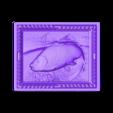 8.stl Download free STL file fishing trout salmon fisherman cnc router art • 3D print design, stl3dmodel