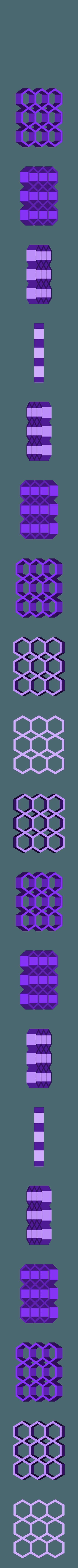 D_7mm.STL Télécharger fichier STL gratuit Support modulaire pour bâton de colle chaude • Objet à imprimer en 3D, Ingenioso3D