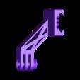 GoPro Mount schuin.stl Download free STL file Go pro ris rail mount angled • Object to 3D print, stevenve