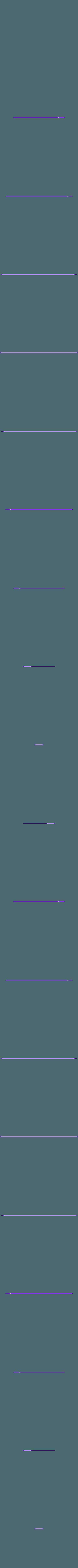 long_handle_guide.stl Download free STL file door handle • 3D printable design, caramellcube