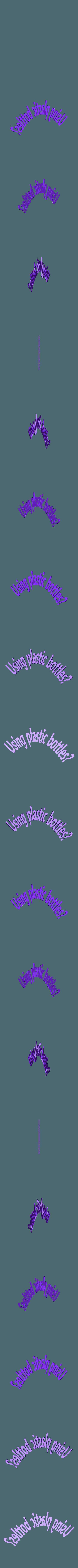 TEXT.obj Télécharger fichier OBJ gratuit plastic pollution impact on animals #XYZCHALLENGE • Design à imprimer en 3D, omni-moulage