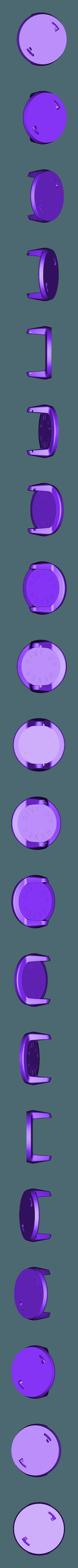 Poignée Never give up.STL Télécharger fichier STL gratuit Poignée pour pompe (Push up bar) • Modèle pour impression 3D, Mathieu_BZH