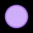 ik hou van jou-negatief_fixed.stl Download free STL file Ik hou van jou! drinkcoaster pair • 3D printer model, IdeaLab