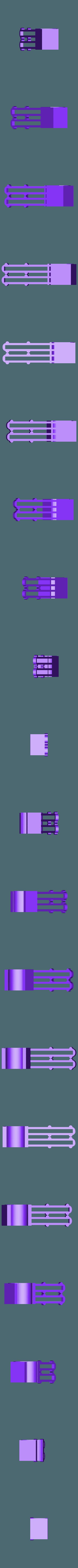 Cuelga medias_mini.stl Télécharger fichier STL gratuit Chaussettes Holder • Plan imprimable en 3D, Blop3D