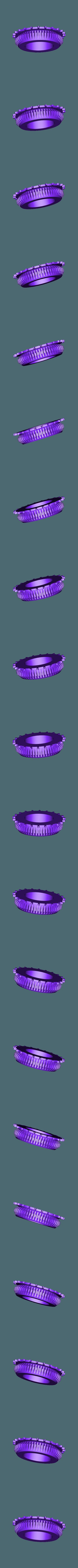test1_bgr_gear.STL Télécharger fichier STL gratuit Test d'engrenage à vis sans fin d'alimentation OpenPnp SMT imprimé 3D • Modèle à imprimer en 3D, jtronics