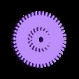 test2_bgr_gear_2.STL Télécharger fichier STL gratuit Test d'engrenage à vis sans fin d'alimentation OpenPnp SMT imprimé 3D • Modèle à imprimer en 3D, jtronics