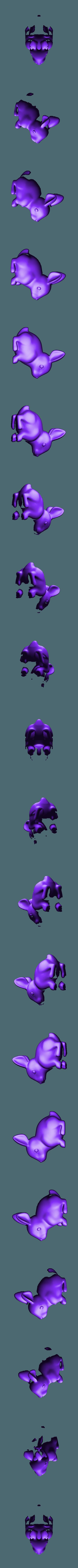 rabbit.stl Download STL file rabbit • 3D printable design, bs3