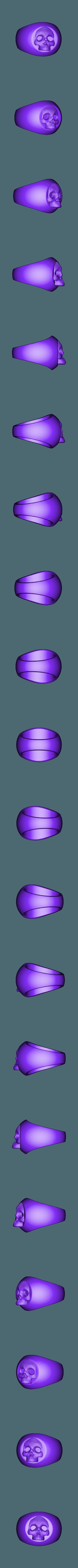 skullringlowpoly.stl Download free STL file Skullring • 3D print object, cchampjr