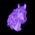golova_konya.stl Télécharger fichier STL gratuit Buste tête de cheval cnc • Objet pour imprimante 3D, 3Dprintablefile