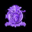 le_v.STL Download free STL file Lion face cnc art • 3D printing template, 3Dprintablefile